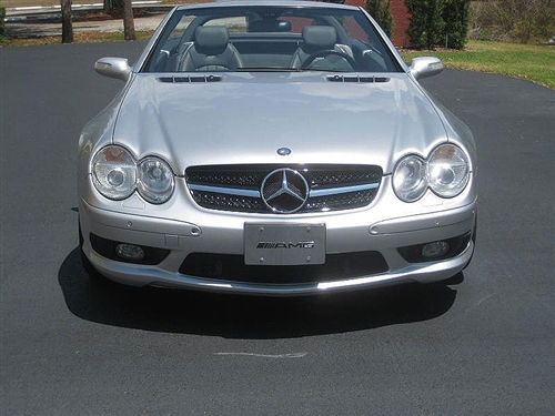 Mercedes benz r230 sl class grill for Mercedes benz sl r230