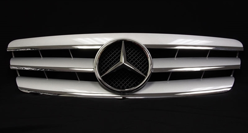 Mercedes benz w203 c class grill for Mercedes benz usa price list