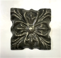 Rosario 3x3 Bronze Resin Decorative Insert Accent Craft Wall Tile