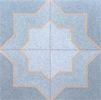 Star 8x8 Cement Tile