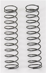 Associated Rear Shock Spring, green, 1.90 lb