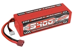 COR49445 5400mAh 11.1v 3S 50C Hardcase Sport Racing LiPo Battery with