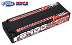 COR49610 6400mAh 7.6v 2S 120C Voltax Shorty Hardcase Lipo Battery