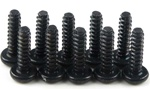 KYO1-S03015TP Kyosho Self-Tapping Bind Screw M3x15mm - Package of 10