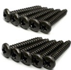 KYO1-S03018TP Kyosho Self-Tapping Bind Screw M3x18mm - Package of 10
