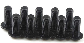 KYO1-S13008H Kyosho Button Hex Screw M3x8mm - package of 10