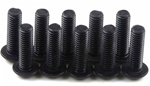 KYO1-S13010H Kyosho Button Hex Screw M3x10mm - package of 10