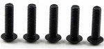 KYO1-S14015H Kyosho Button Hex Screw M4x15mm - package of 5