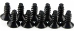 KYO1-S33008TP Kyosho Flat Head Self-Tapping Screw M3x8mm - Package of 10