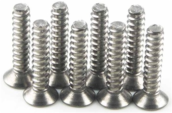 KYO1-S33015T Kyosho Titanium Flat Head Screw M3x15mm - Package of 8