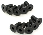 KYO1-S34010H Kyosho Flat Head Hex Screw M4x10mm - Package of 10