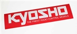 KYO87003 Kyosho Logo Sticker Medium Size 290mm x 72mm