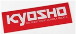 KYO87005 Kyosho Logo Sticker Extra Large 900mm x 200mm