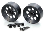 KYOBL9BK Kyosho Blizzard SR Black Wheel - Package of 2