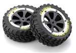 KYOEZ002 Kyosho Sand Master Tire and Wheel Set - Package of 2