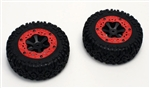 KYOEZ023 Kyosho AXXE Wheel and Tire Set