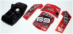 KYOEZ025R Kyosho AXXE Body Parts set in Red