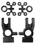 KYOIF114B Kyosho Hub Carrier Rear, spacers and body clip washers