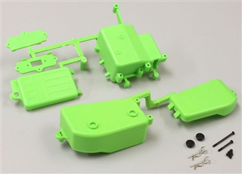 KYOIFF001KG Inferno MP9 Green Battery & Receiver Box Set