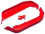 KYOIFF002KR Kyosho Inferno MP9 TKI3 Side Guard Set Red