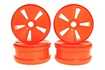 KYOIFH001KO Kyosho Dish Wheels Orange