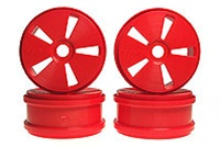 Kyosho Dish Wheels - Red
