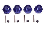 KYOIFW107B Kyosho Inferno Wheel Hubs 17mm, Set Screws and Pins