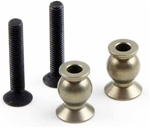 KYOIFW417 Kyosho Inferno MP9 Hard Aluminum 6.8mm Ball H=10.2mm - Package of 2