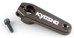 KYOIFW449 Kyosho Inferno MP9 and STRR 7075 Hard Aluminum Servo Horn - KO/Sanwa