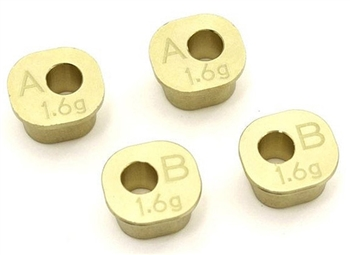 KYOIFW606 Kyosho Inferno MP10/10T Brass Rear Hub Carrier Bushing Set