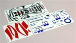 KYOIGB051-1 Kyosho Inferno GT BMW M3 GTR Decal Set