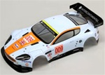 KYOIGB104 Kyosho Inferno GT2 Aston Martin DBR9 Team Gulf Painted Body Set