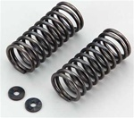 KYOIGW004-8022 Kyosho Inferno GT and GT2 Shock Spring 8-2.2 L=45mm Black - Package of 2