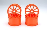 Orange Kyosho 10 Spoke Wheels