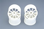 White Kyosho 10 Spoke Wheels