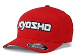 KYOKA30001RL Kyosho Hat - 3D Cap Red L/XL