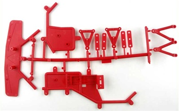 KYOKT003 Kyosho Birel Racing Kart Red Frame Set