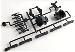 "KYOLA209HB Kyosho Rear Carbon Composite Bulk Head & Toe Block Set ""B"" Version (ZX5)"