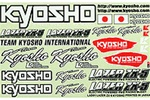 KYOLAD01 Kyosho Lazer ZX-5 Decal Sheet