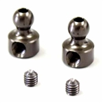 KYOLAW57-01 Kyosho Lazer ZX6 Stabilizer Adjustment ball 2.1 hole Gunmetal - Package of 2