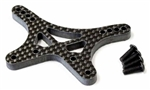 KYOLAW58 Kyosho Lazer ZX6 Carbon Front Shock Stay 5mm Thick