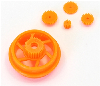 KYOMC004OR Kyosho Moto Racer Orange Drive Gear Set