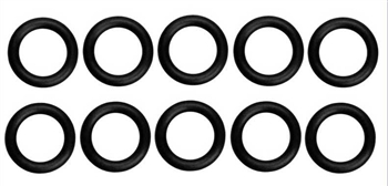 KYOORG08BK Kyosho Black P8 O-ring Comes in a - Package of 10