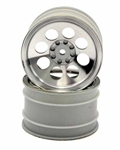 KYOOTH245SC Optima/ Javelin  8 Hole Wheel 50mm Satin Chrome - Package of 2