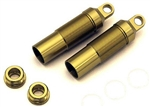 KYOOTW129-01 Optima/ Javelin Gold Rear Shock Case Set - Package of 2