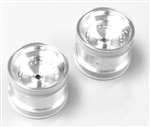 KYOSCH002SC Kyosho Scorpion 2014 Rear Wheel Satin Chrome - Package of 2