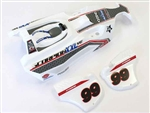 KYOSXB001 Kyosho Scorpion XXL Completed Body Set T1 White