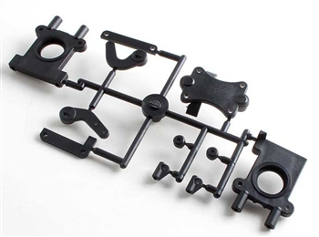 "KYOTR111B Kyosho Center Bulk Head Set for D Series Version ""B"""