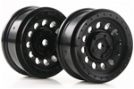 KYOTRH111BK Kyosho DRT Black Wheel - Package of 2