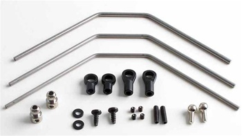KYOTRW153 Kyosho DRX Front and Rear Hard Stabilizer Set or Sway Bars - All 3 Sizes